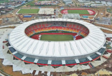 Photo of Can 2021 : plus de  90% de taux de réalisation des travaux de construction du stade de Japoma
