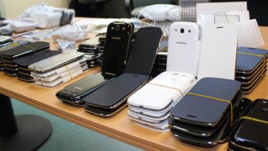 Photo of Contrebande : plus de 5000 téléphones saisis par la douane