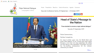 Photo of Le Grand dialogue national a son site internet