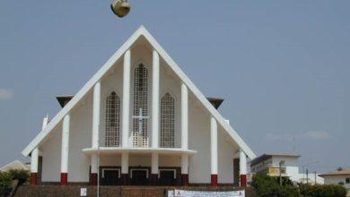 Photo of Archidiocèse de Yaoundé : Mgr Jean Mbarga accuse Afriland First Bank