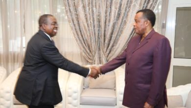 Photo of Coopération:  Louis Paul Motaze reçu par Denis Sassou Nguesso