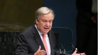 Photo of António Guterres : « Après la crise de la COVID-19, le relèvement doit ouvrir la voie à une économie différente »