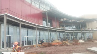 Photo of La phase I du Douala Grand Mall en cours de finalisation