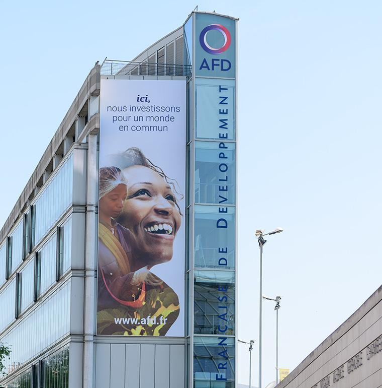 une facade de AFD