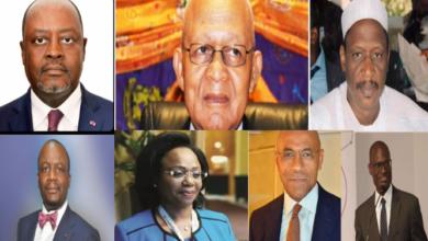 Les 7 DG du secteur public au Cameroun