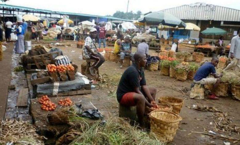 Un Marché du Cameroun
