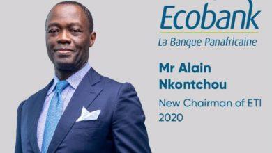 Photo of Le Camerounais Alain Nkontchou, nouveau Pca du Groupe Ecobank