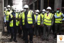 Photo of Neo Congo Mall : Roger Mbassa Ndine visite le chantier