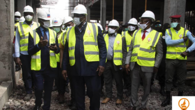 Photo of Neo Congo Mall : Roger Mbassa Ndine visite le chantier